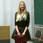 """Martyna Sowa (esej """"Kilka słów miłośnika poezji o zrzędliwym krewnym, jakim jest fizyka"""")"""
