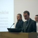 """Bartosz Marchlewicz, Tomasz Sokołowski, Mateusz Zych (praca naukowa """"Przestrzenne układy oporników"""")"""